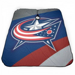 Lightweight NHL Columbus Blue Jackets Haircut apron 55*66 in #183410 Customized Patterned
