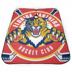 Dainty Florida Panthers Haircut apron 55*66 in #185093 with Snap Closure for Hair Cutting